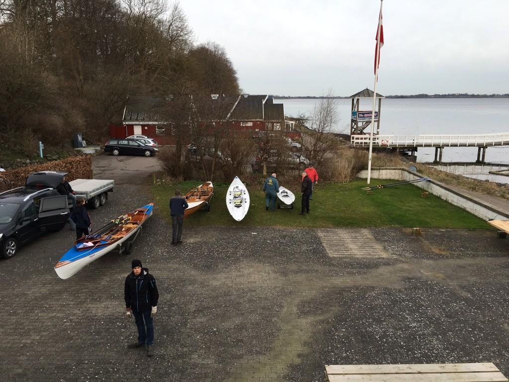 Bådplads kl 8.45