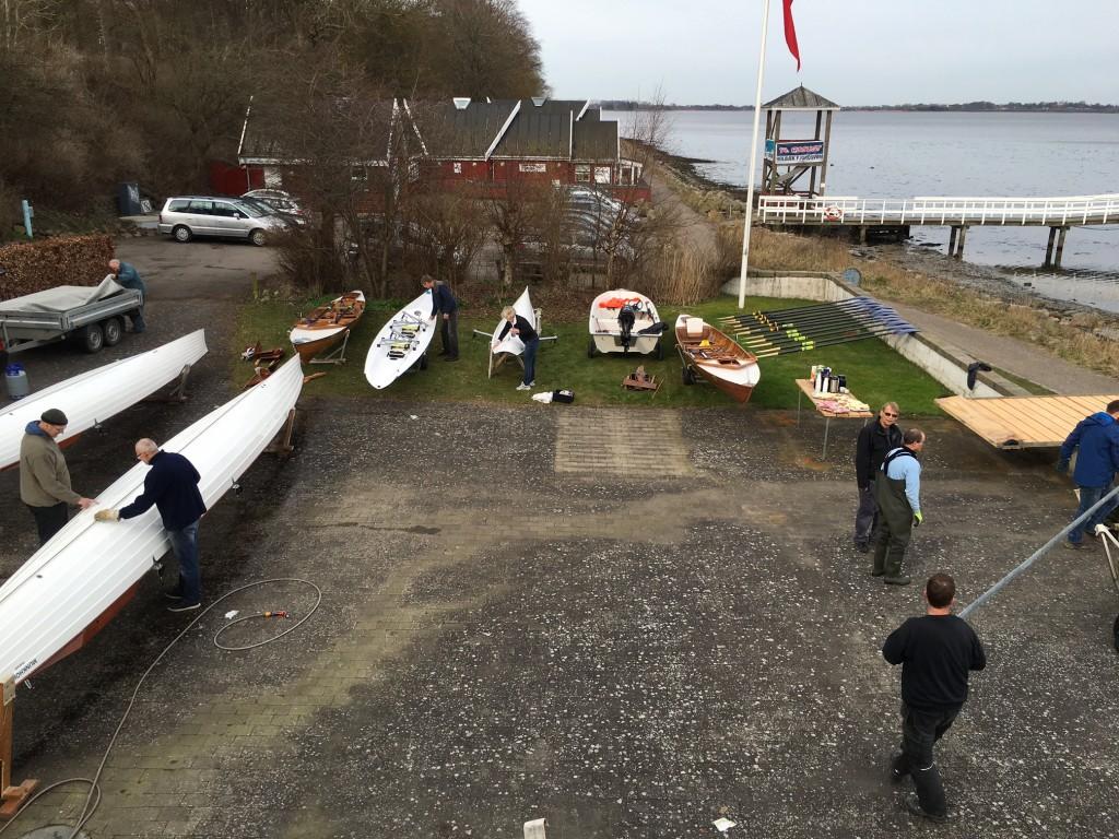Bådplads kl. 10